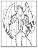 How to Draw  aCartoon Eagle Elijah