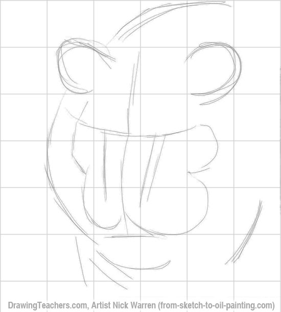 How to Draw a Tiger 5