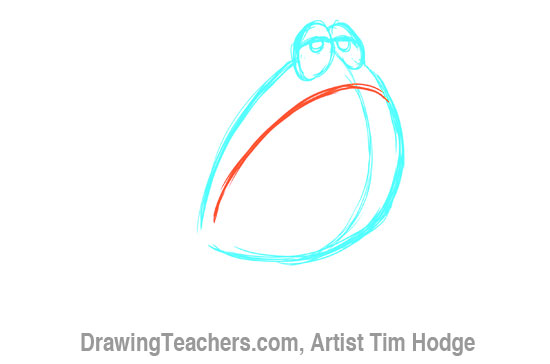 How to Draw a Cartoon frog 3