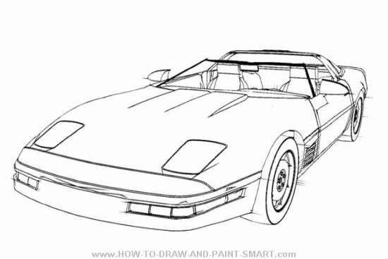 Corvette Front