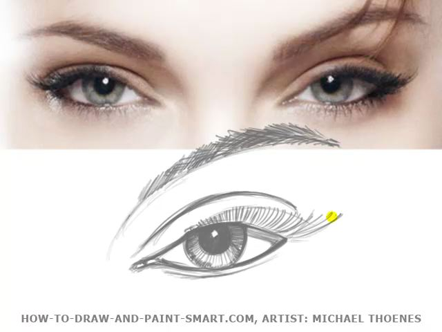 How to Draw eyes 04