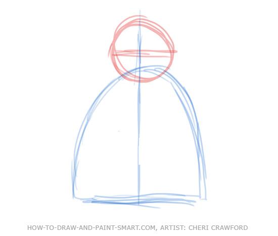 Angel Drawing 3