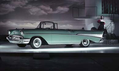 57 Chevy Bel Air Convertible