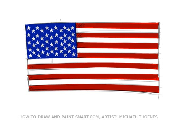 American Flag Clipart