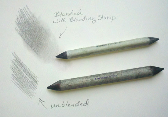 Blending Stump for Blending Pencil