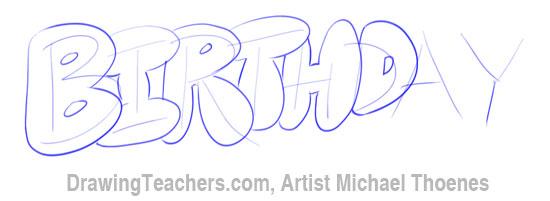 Bubble Letters 8