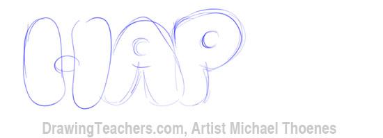 Bubble Letters 3