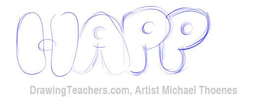 Bubble Letters 4