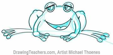 frog Outline 3
