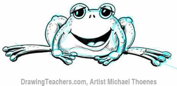 Shading A Frog