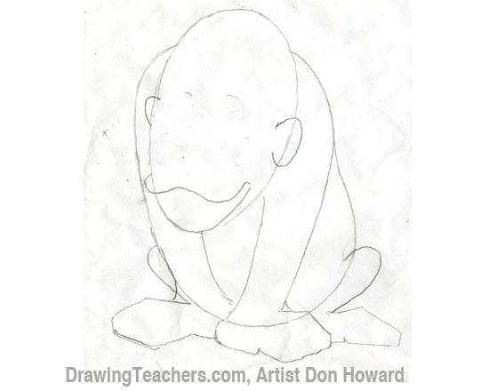 Cartoon Monkey 2
