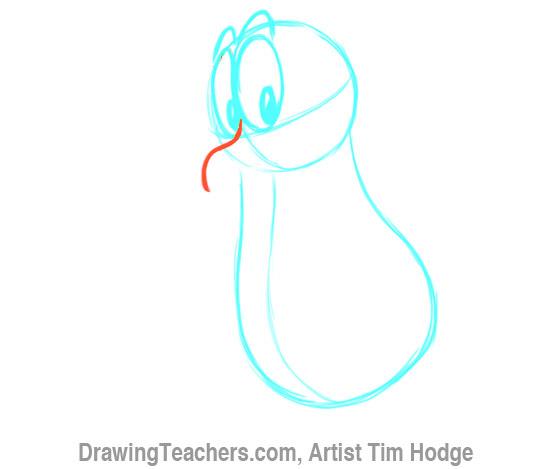 How to Draw a Cartoon penguin 5