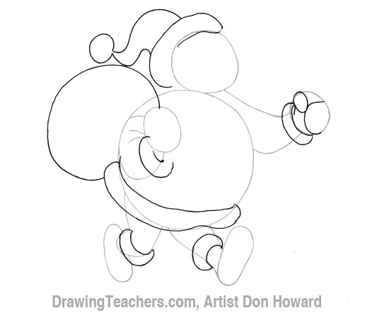 Cartoon Santa Claus 2