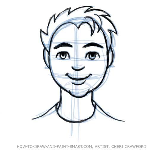 Draw A Human Face