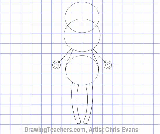 "How to draw Cartoon characters ""Fred"""