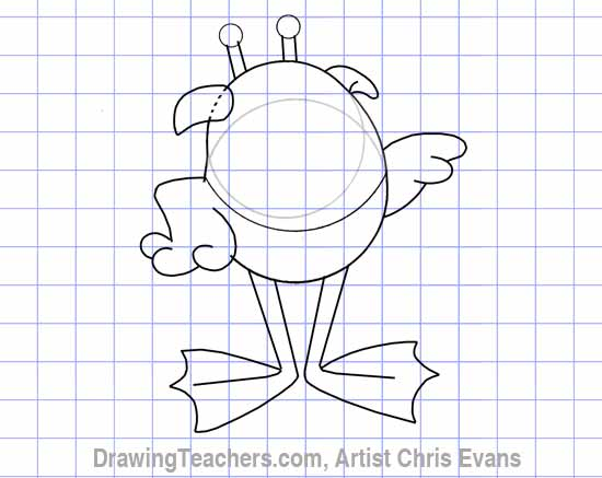 Draw Cartoon Characters Hoppy From Jumbalees