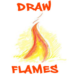 draw flames