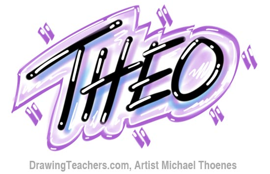 Graffiti Letters theo
