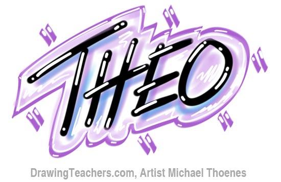 Graffiti Letters theo