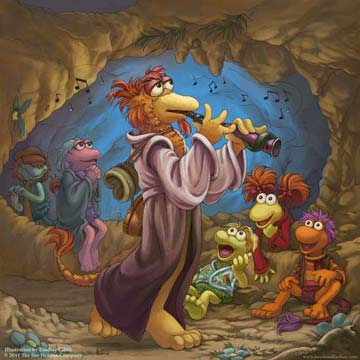 Fraggle Rock Illustration by Lindsay Cibos