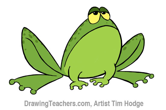 Cartoon frog - photo#14