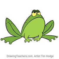 Cartoon frog Drawing