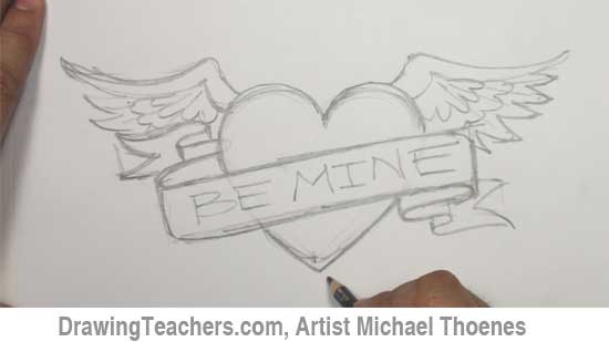 Heart Drawings For Your Boyfriend Heart Drawing - Ultima...