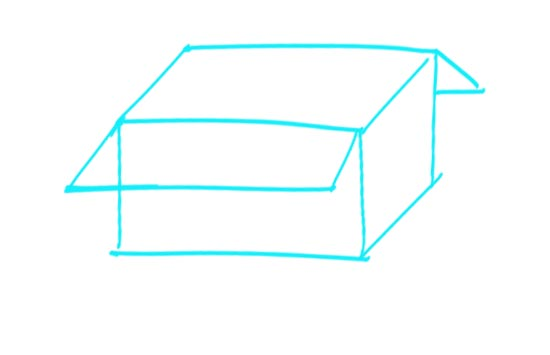 How to Draw a Box Step 1