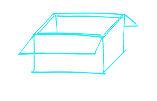 How to Draw a Box Step 5