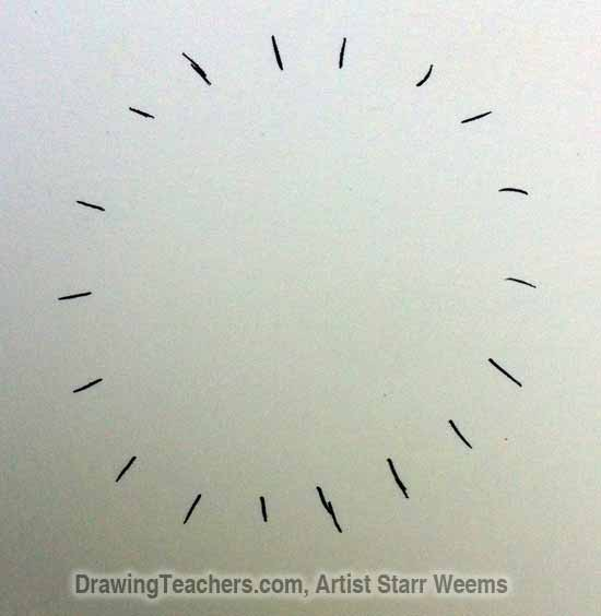 How to Draw a Dandelion 2