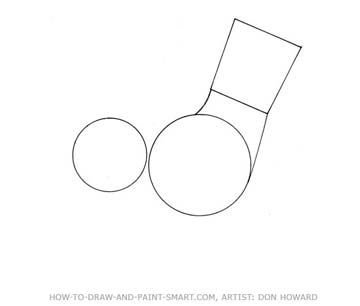 How to Draw a Cartoon Dog Step 2