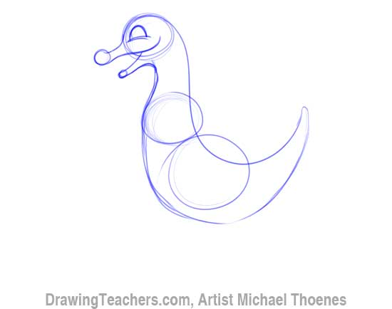 How to Draw Dragon for Kids 3