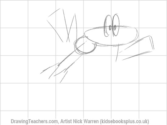 How to Draw a Frog 4