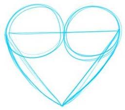 วิธีการวาดขั้นตอนที่ 3 โรคหัวใจ