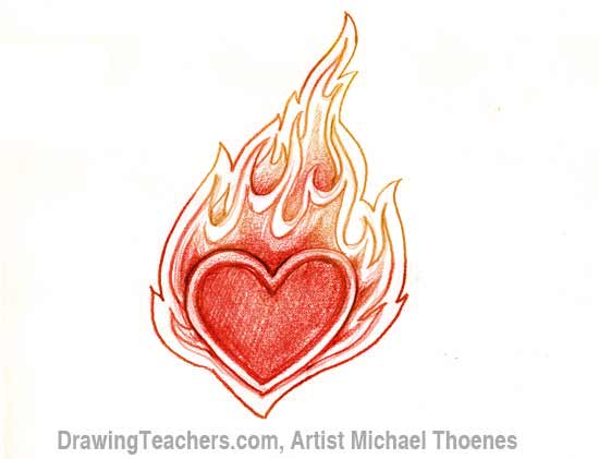 How To Draw Graffiti Hearts How to draw a