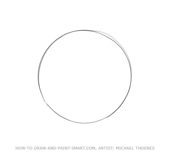 How to Draw a Star Step 1