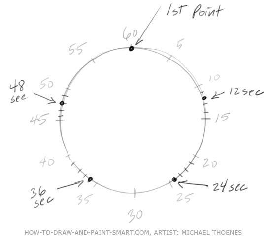 How to Draw a Star Step 4