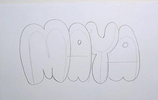 How to Draw Maya