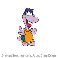 How to Draw Cartoon Characters Myrtle from Jumbalees