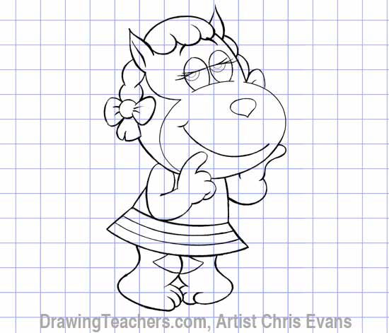 """How to draw Cartoon characters """"Fred"""""""