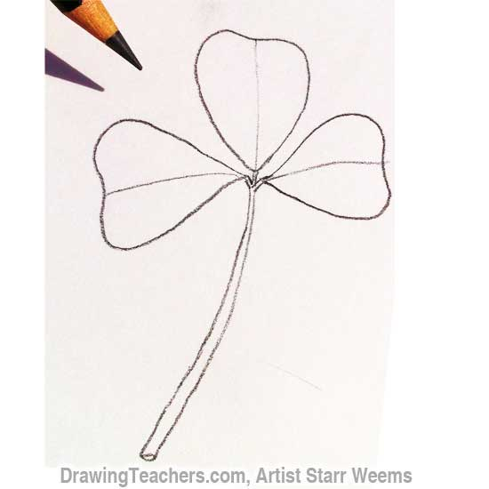 How to Draw Clover 3