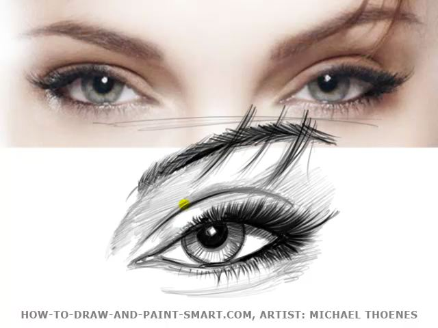 how to draw cartoons eyes. How to Draw Eyes 01