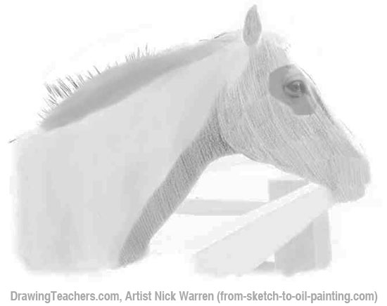 How to Draw Horses 6