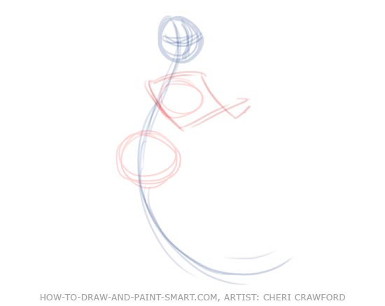 How to Draw Mermaids Drawing 3