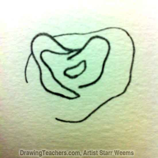 How to Draw Roses 2