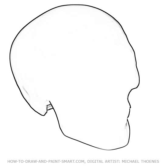 How to Draw Skulls 1