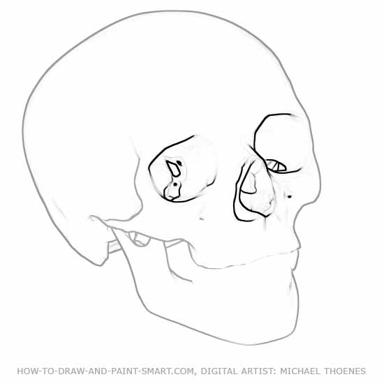 How to Draw Skulls 3