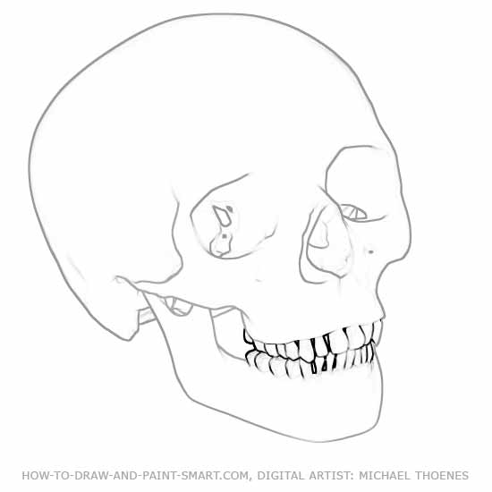 How to Draw Skulls 4