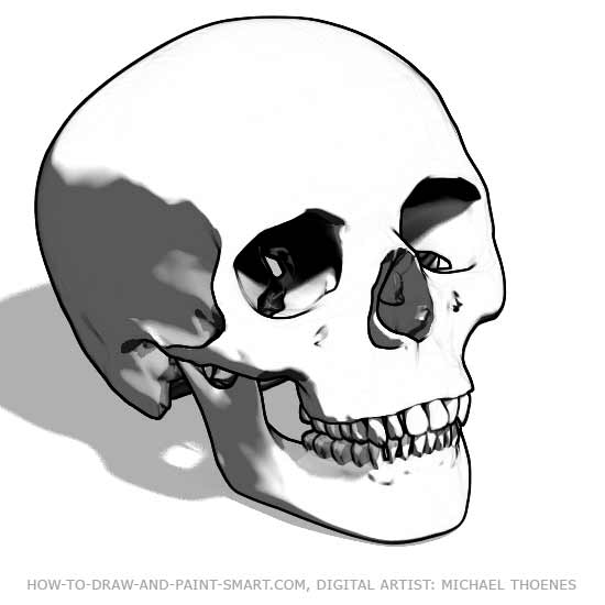How to Draw Skulls 5