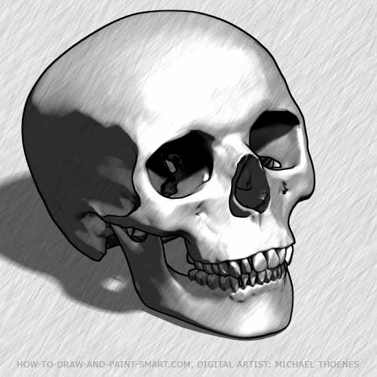 """Now let's get started with """"How to Draw Skulls"""""""